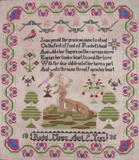 Rachel Mauger Reproduction Sampler